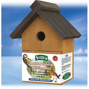 Supa Multi-Purpose Wild Bird Nest Box
