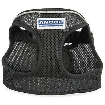 Ancol Step-in Mesh Harness - Schwarz - Medium
