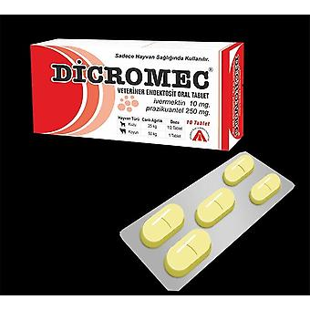Dicromec For Animal - Anti Parazit Anti-itch For Animals Healthy Vermectin