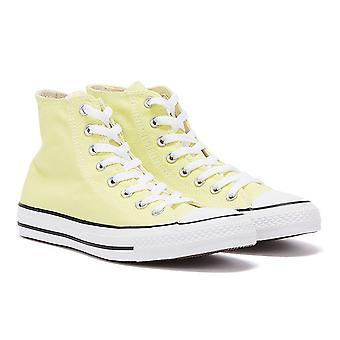 Converse Chuck Taylor All Star Light Zitron Yellow Hi Trainers