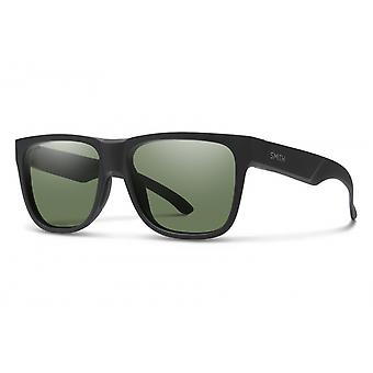 Zonnebril Unisex Lowdown 2 mat zwart/groen