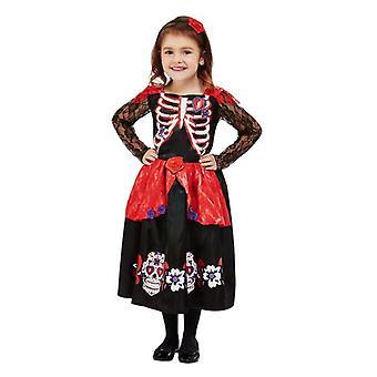 Småbarn Dag av Dead Fancy Kjole Kostyme