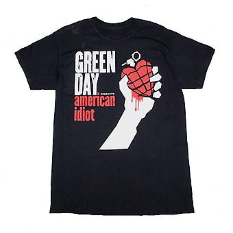 Green Day T Shirt Green Day American Idiot T-Shirt