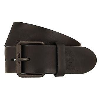 Strellson belts men's belts leather belt black 1973