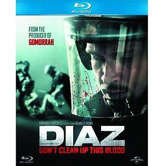 Diaz-inte ren upp detta blod [Blu-ray] USA import