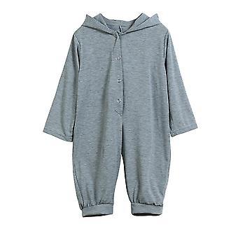 Baby, Dinosaur Playsuit, Hooded Cotton, Long Sleeve Romper, Jumpsuit
