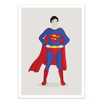 Konst-Affisch - Superheroe - Judy Kaufmann