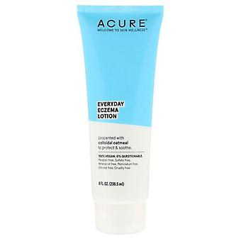 Acure Everday Eczema Unscented Lotion, 8 Oz