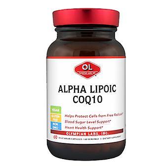 Olympian Labs Alpha Lipoic CoQ10, 200 mg, 60 caps