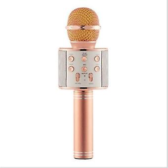 Wireless Usb Microphone, Professional Condenser Karaoke Mic Bluetooth Stand