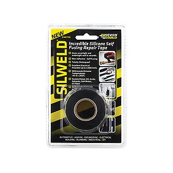 Everbuild Silweld Tape Black 3m EVB2SWELDBK