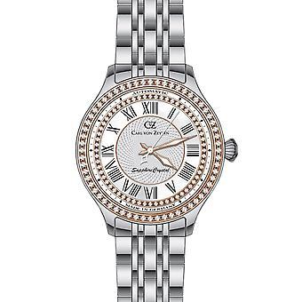 Carl von Zeyten Women's Watch Wristwatch Automatic Hornberg CVZ0068RWHM