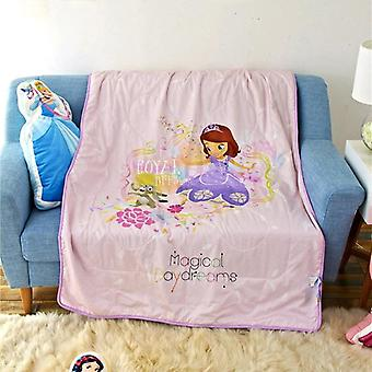 Disney Rapunzel, Cinderella, Princess, Toddler Summer Quilt, Kindergarten