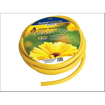 Home Gardener Reinforced Hose Yellow 30m