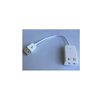 Astrotek USB-äänisovitin kanava