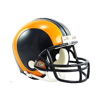 Riddell Mini Football Helmet - NFL Los Angeles Rams 1981-99
