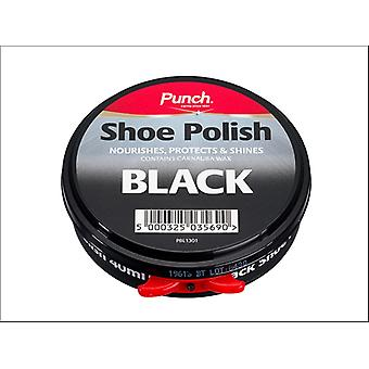 Punch Shoe Polish Black 40ml