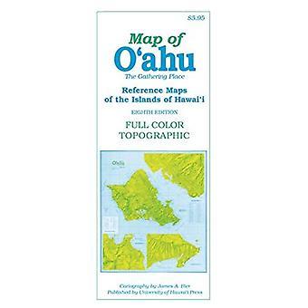 Kaart van O'Ahu: The Gathering Place (Referentiekaarten van de eilanden hawai'i)