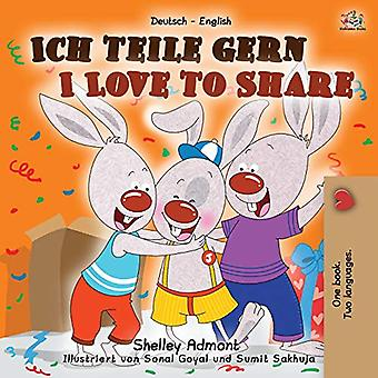 I Love to Share (German English Bilingual Book for Kids) (German English Bilingual Collection)