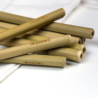 Biologisch abbaubare Bambus-Trinkhalme