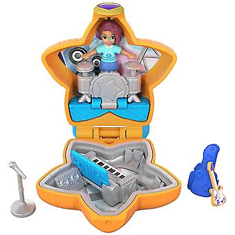 Polly pocket fry32 tiny pocket places concert compact playset shani's concert