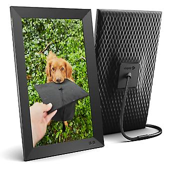 Nixplay smart digital photo frame 15.6 inch - share moments instantly via app or e-mail 15 inch