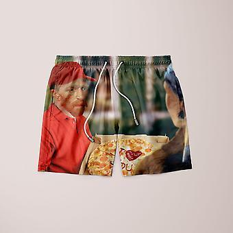 Vang gogh's pizza shorts