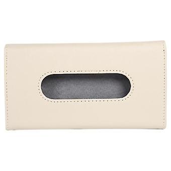 Auto Car Tissue Holder, Box Holder Pu Leather, Paper Napkin Cover, Auto
