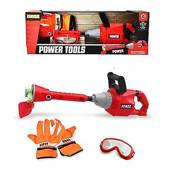 Electric Drill Chainsaw-children's Pretend Play