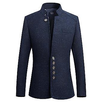 Autumn Winter Blazer Men, Thicken Jacket