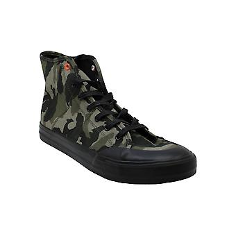 Steve Madden Womens Spike Hight Top Lace Up Fashion Sneakers