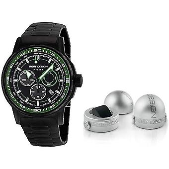 Momo design watch pilot pro chrono quarzo md2164bk-30