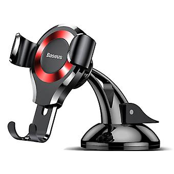 Baseus Universal Phone Holder Car with Dashboard Stand - Smartphone Holder Red