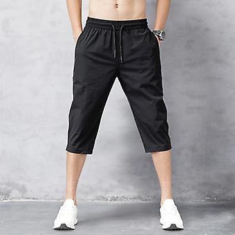Men's Shorts Summer Breeches Nylon 3/4 Length Trousers