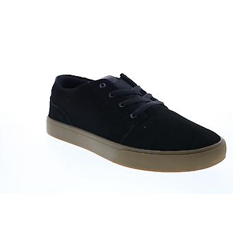 Osiris Bentley VLC  Mens Black Suede Skate Inspired Sneakers Shoes