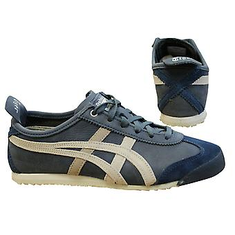 Onitsuka Tiger Mexico 66 Mens Unisex Low Top Navy Trainers  D832L 4990 B94A