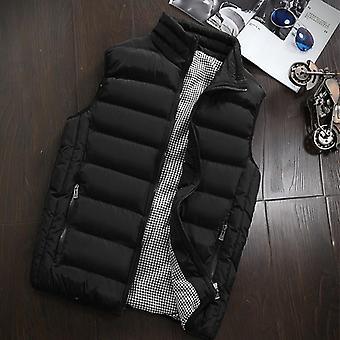 Winter Fashion Casual Slim Coats Brand Clothing Cotton-padded Waistcoat