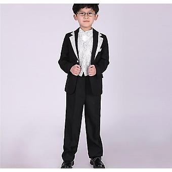 Exquisite Stickerei 5-teilige Nset Anzug