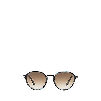 Persol PO3184S blue & dark grey tortoise unisex sunglasses