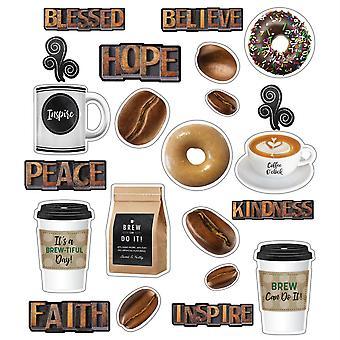 Industrial Cafe Morning Motivators Mini Bulletin Board Set
