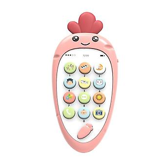 Electronic Phone Teether Music  - Early Multi Function Simulation Phone Toy