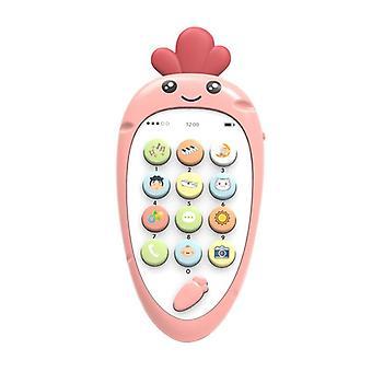Musique électronique de dents de téléphone - jouet de téléphone de simulation de multi fonction tôt