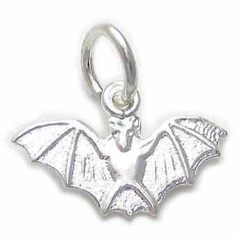 Bat Sterling Silver Charm .925 X 1 Kleine Vliegende Vampier Vleermuizen Charms - 4588