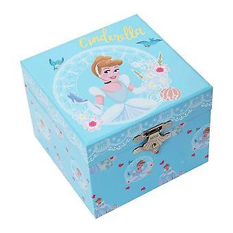 Disney Princess Kopciuszek Pastel Musical Biżuteria Box