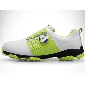 Mannen waterdichte ademende golfschoenen Gesp Slip Resistente Sneakers Outdoor