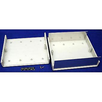 Hammond 1598DGY Instrument Enclosure FRABS 180x206x64mm Flame Retardant Grey