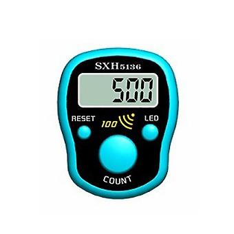 Lcd Electric Digital Display Mini Stitch Marker Row Finger Counter