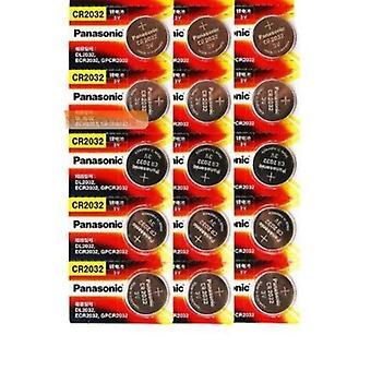 15ks Originální 3v knoflíkové baterie