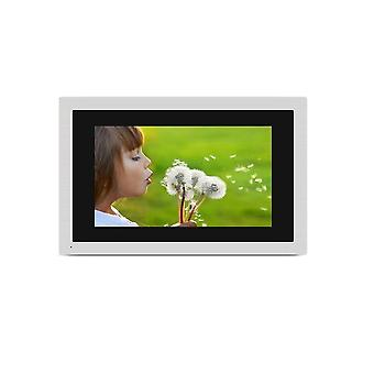 """10""""- Touch Screen Wifi Ip Video, Door Phone, Wired Single Monitor, Access"""
