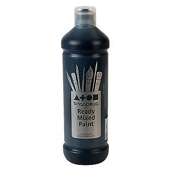 Brian Clegg Ready-mix Paint 600ml - Black